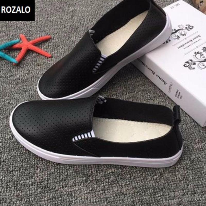 Giày Lười Nữ Rozalo Rwg61512bl (Đen)