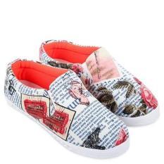 Giày lười nữ Sarisiu SRS882- Tặng kèm túi hoặc ví thổ cẩm cho khách hàng