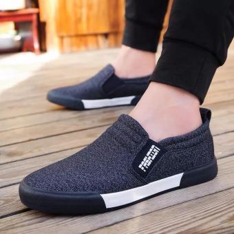 Giày lười vải nam thời trang và lịch lãm Fashion - GiayKS - LFS002 (xanh than) - 8302469 , NO007FAAA3Q7MLVNAMZ-6639204 , 224_NO007FAAA3Q7MLVNAMZ-6639204 , 300000 , Giay-luoi-vai-nam-thoi-trang-va-lich-lam-Fashion-GiayKS-LFS002-xanh-than-224_NO007FAAA3Q7MLVNAMZ-6639204 , lazada.vn , Giày lười vải nam thời trang và lịch lãm Fashion