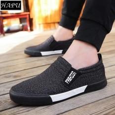 Giày lười nam thời trang và lịch lãm Fashion – HAPU (tùy chọn: đen hoặc xanh navy)