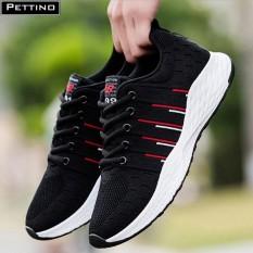 Giày Thể Thao Sneaker Nam Hot 2019 Màu Đen – Pettino P003