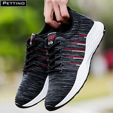 Giày nam sneaker cao cấp – Pettino P003 (xám)