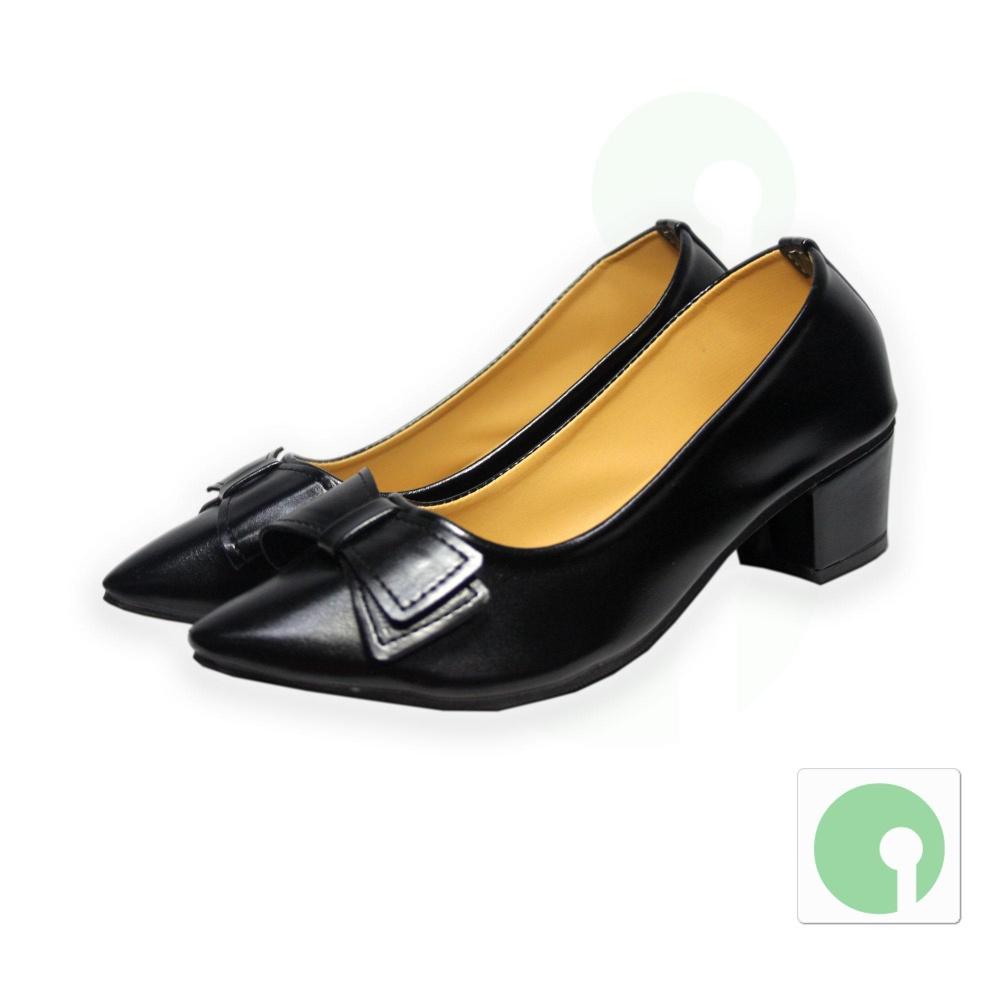 01 Đôi Giày nữ thời trang giá rẻ – kiểu dáng mới nhất – NGL-69DE (Đen)