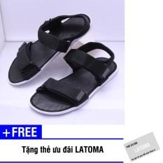 Giày Sandal nam nữ quai dù thời trang cao cấp Latoma TA0551 (Nhiều màu lựa chọn) + Tặng kèm thẻ ưu đãi Latoma