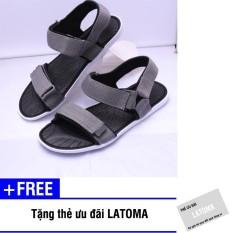Giày Sandal nam quai dù thời trang cao cấp Latoma TA0552 + Tặng kèm thẻ ưu đãi Latoma