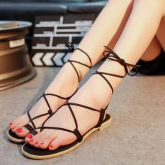Giày sandal nữ chiến binh màu đen giá tốt