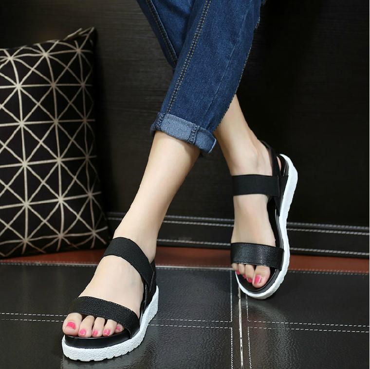 Giày Sandal quai ngang cá tính phong cách Hàn Quốc – XS0208