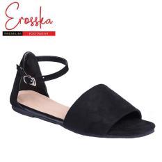 Giày Sandal Thời Trang Erosska – ER001 (Màu Đen)