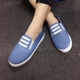 Giày Slip On 3 dây nữ CS1406 (Xanh nhạt) - 3