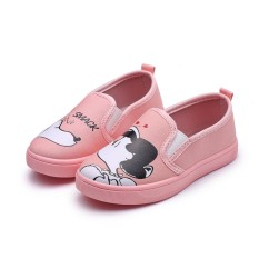 Giầy Slip on hồng yêu cho bé gái