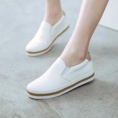 Giày Slip-On Nữ Da PU Cao Cấp Nhẹ 3Fashion Shop – MSP 2852