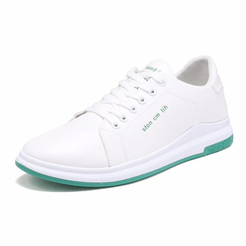Giày Sneaker Nam DOHA Shop N5638TX Trắng Phối Xanh