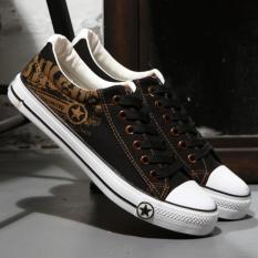 Giá KM Giày sneaker nam thấp cổ – CV08 ( đen )