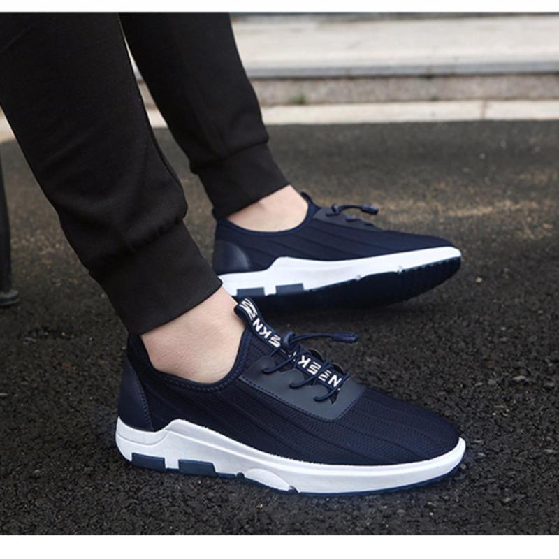 Giày Sneaker Nam Thể Thao Siêu Hot New Shoes DOHA Shop SN25H39 Navy