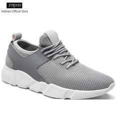 Giày Sneaker Nữ Thời Trang Zapas GN080 ( Xám )