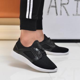 Giày Sneaker Thể Thao Nam Cá Tính POSA PS007 (Đen) - 4