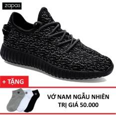 Giày Sneaker Thể Thao Nam Zapas – GS011 (Màu Đen) + Tặng  Vớ Nam
