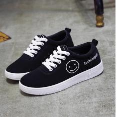 Giày Sneaker Thời Trang Nữ Sodoha shop SN 55B29WNN Đen Phối Trắng