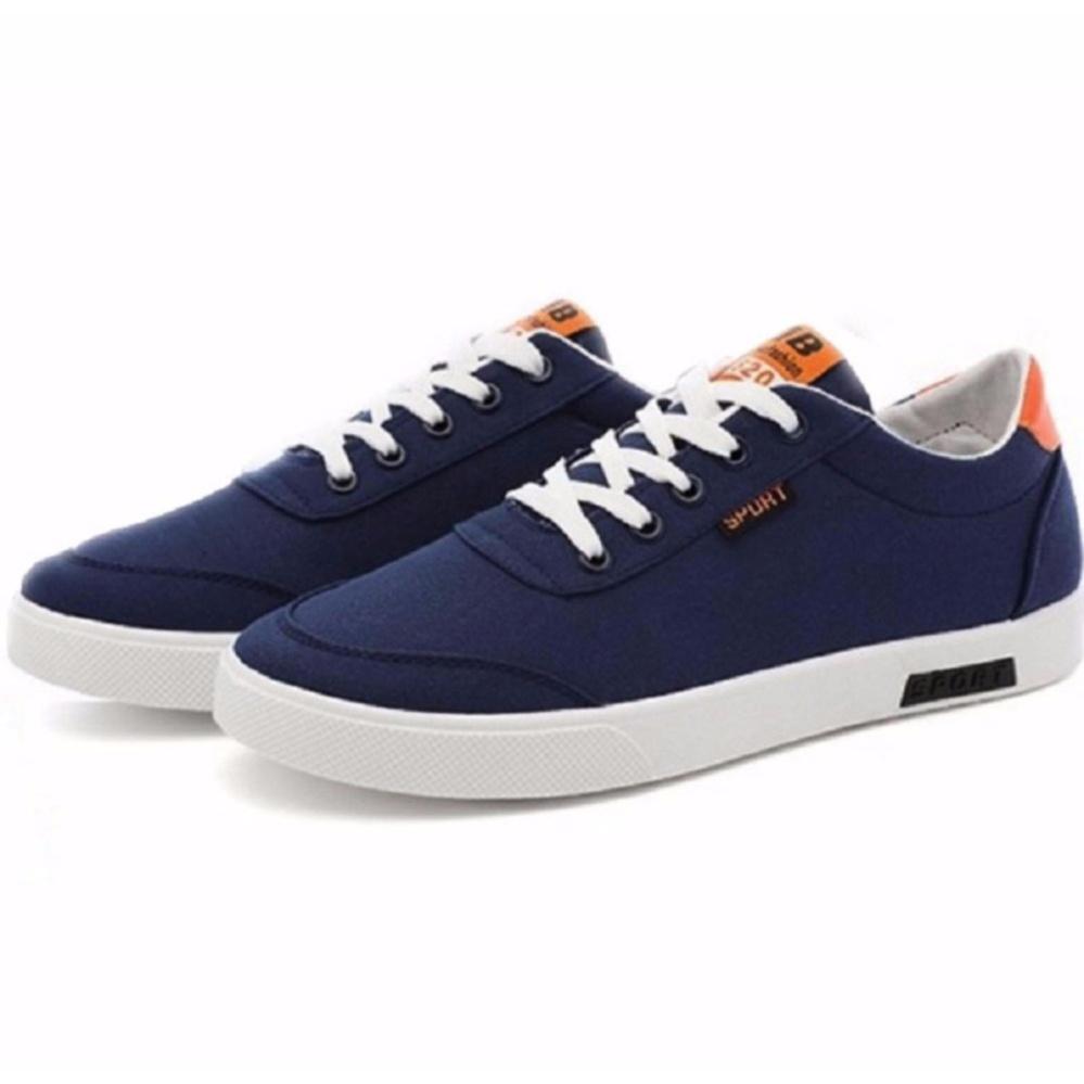 Giày Sneakers Thời Trang Nam Alami – GTT113 (Xanh Cam)