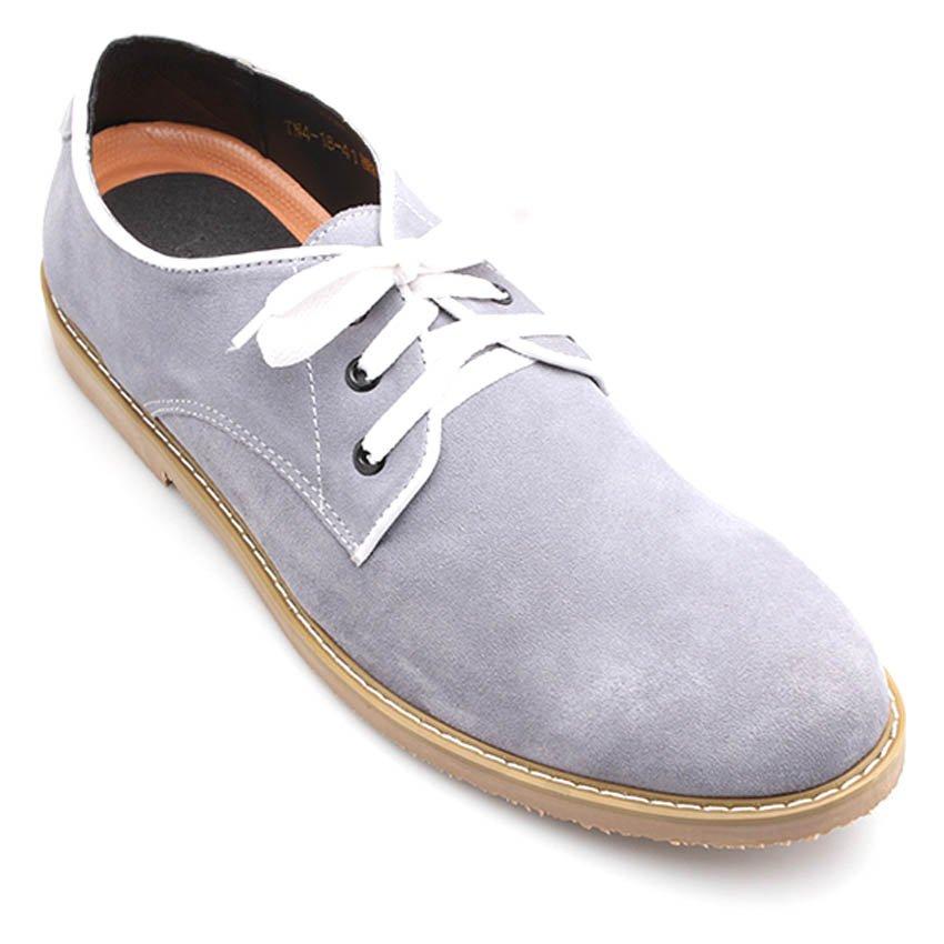 Giày tăng chiều cao nam LADA TN4-18 (Xám)