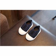 Giày tập đi mẫu mới đáng yêu cho bé (Xanh đen)