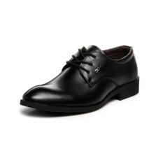 Giày tây nam buộc dây ZAVANS – GT06 (Đen)