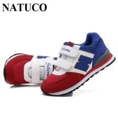 Giày thể thao bé trai, bé gái ( mầu xanh Navy-trắng-đỏ) – GBXNV06