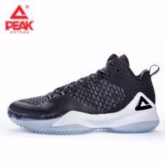 Giày thể thao bóng rổ nam Peak Streetball Master E73421A – Đen