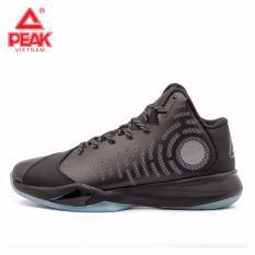 Giày thể thao bóng rổ nam Peak Tony Parker E74081A – Đen