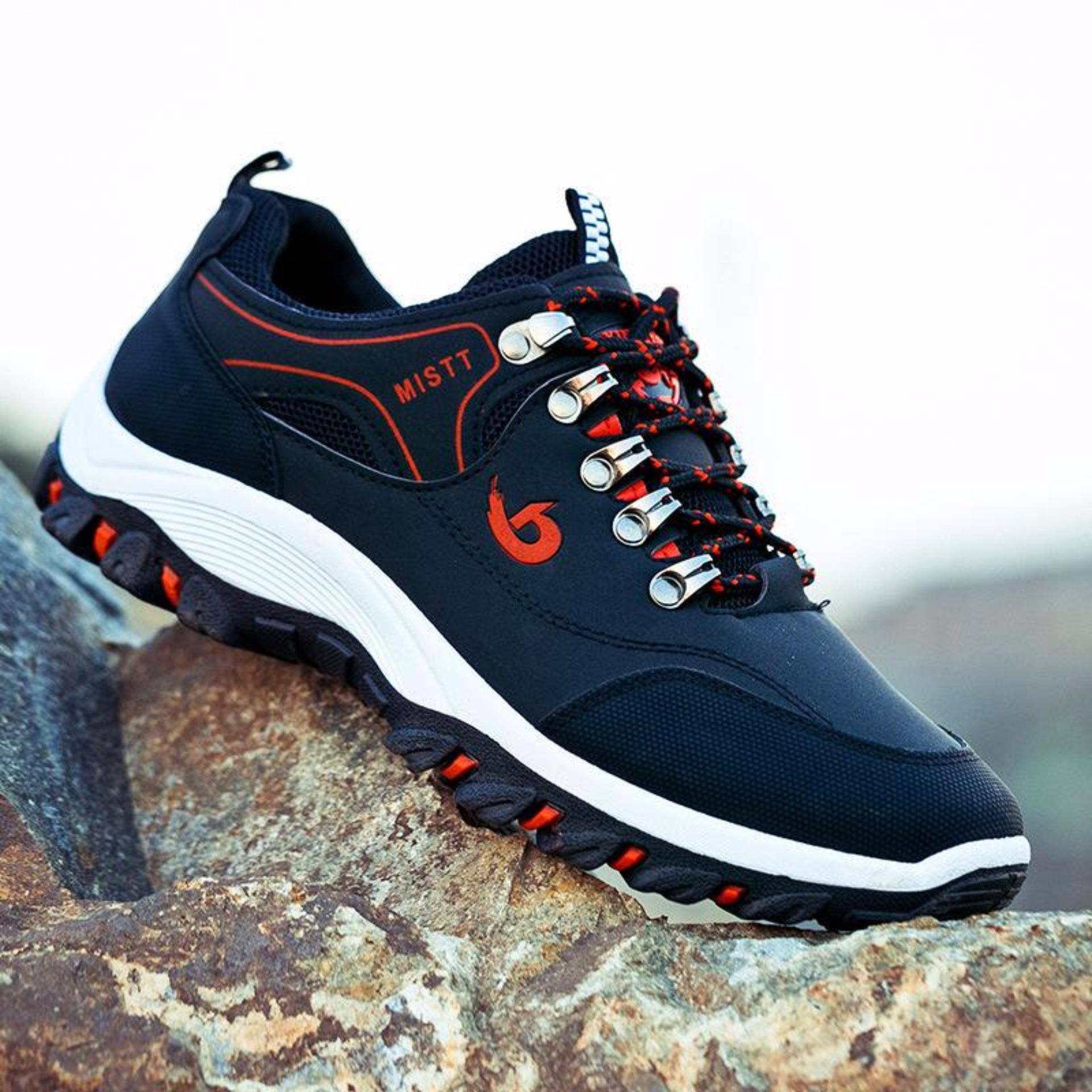 Giày thể thao nam G-paperLZD2866A (Đen)