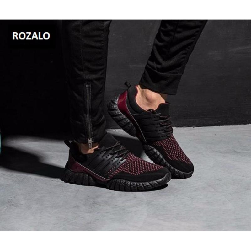 Giày thể thao nam ROZALO RMG33913YB - Màu Vàng đen