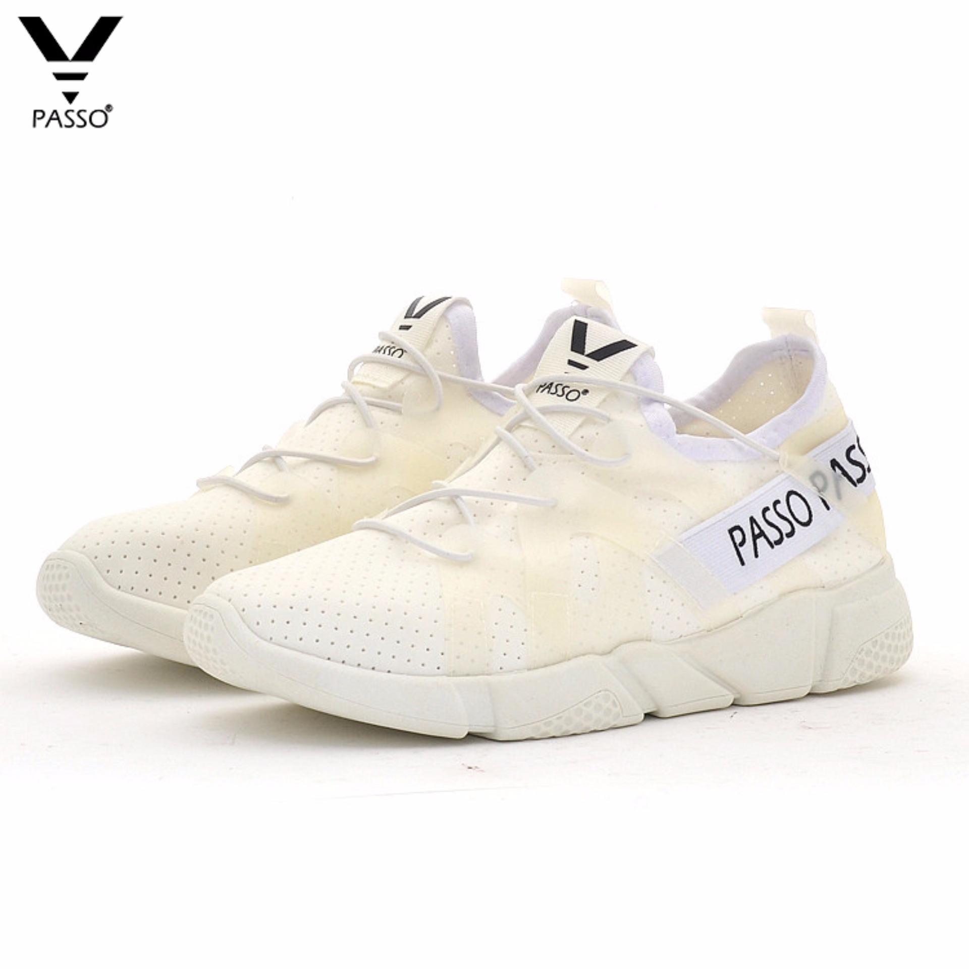 Giày Thể Thao Nữ PASSO G037 (Trắng)