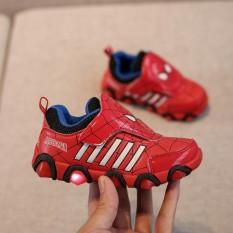 Giày thể thao siêu nhân người nhện cho bé – Size 26 đến 31 – Spider man – đỏ