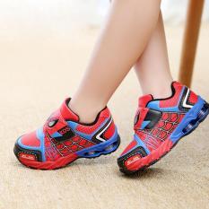 Giày thể thao siêu nhân người nhện cho bé – Size 26 đến 34 – Spider man 661 Kids – đỏ