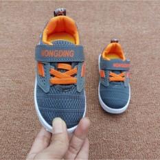 Giày thể thao siêu nhẹ cho bé – Size 21 đến 25 – Hongding- xám