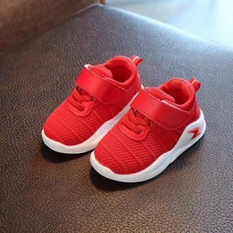 Giày thể thao siêu nhẹ cho bé - Size 21 đến 30- chữ Z1 gạch - đỏ