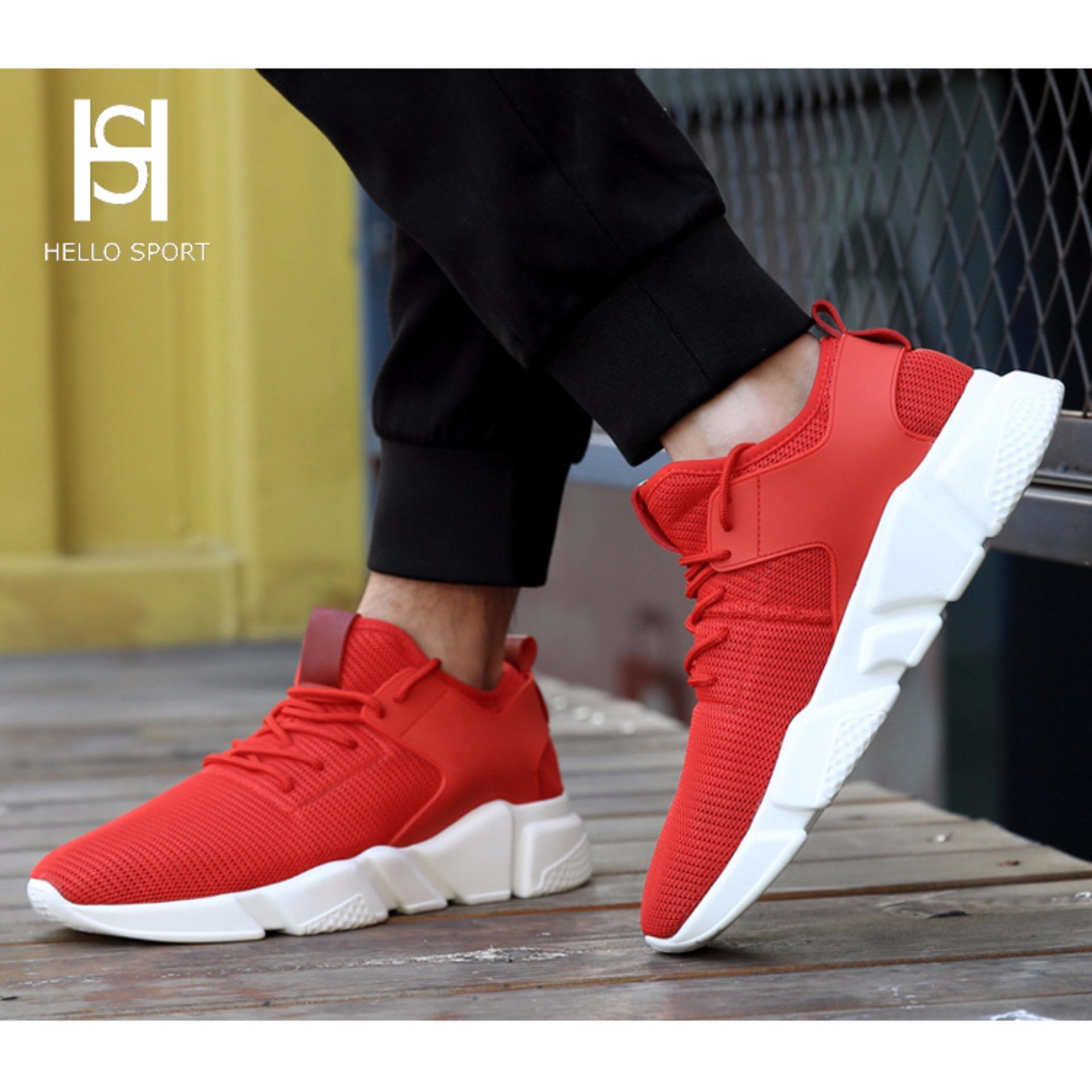 Giày Thể Thao Sneaker HS 01 Đỏ