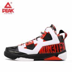 Giày thời trang bóng rổ nam Peak Monster VII E53231A – Trắng Đỏ