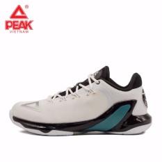 Giày thời trang bóng rổ nam Peak Tony Parker V E73323A – Trắng Đen