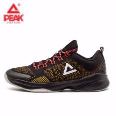 Giày thời trang bóng rổ nam Peak Ultra Light EW7207A – Đen Đỏ Multicolor
