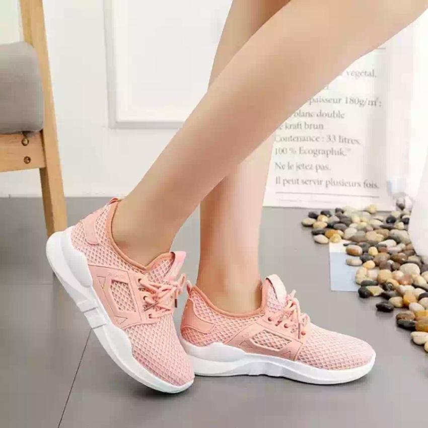 Hình ảnh Giày thời trang nữ Fashion M lưới - GiayKS - MLuoi001 (hồng cam