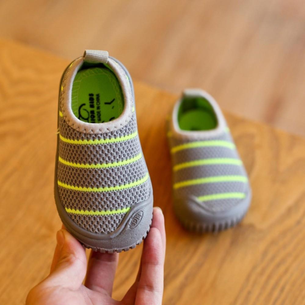 Giày Thời Trang Trẻ Em Kids05 (Ghi)