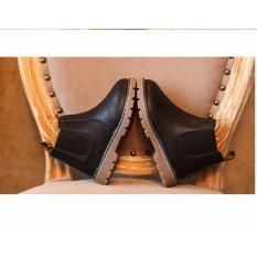 Giày trẻ em boot chelsea cổ ngắn V2 SC044 (Đen)