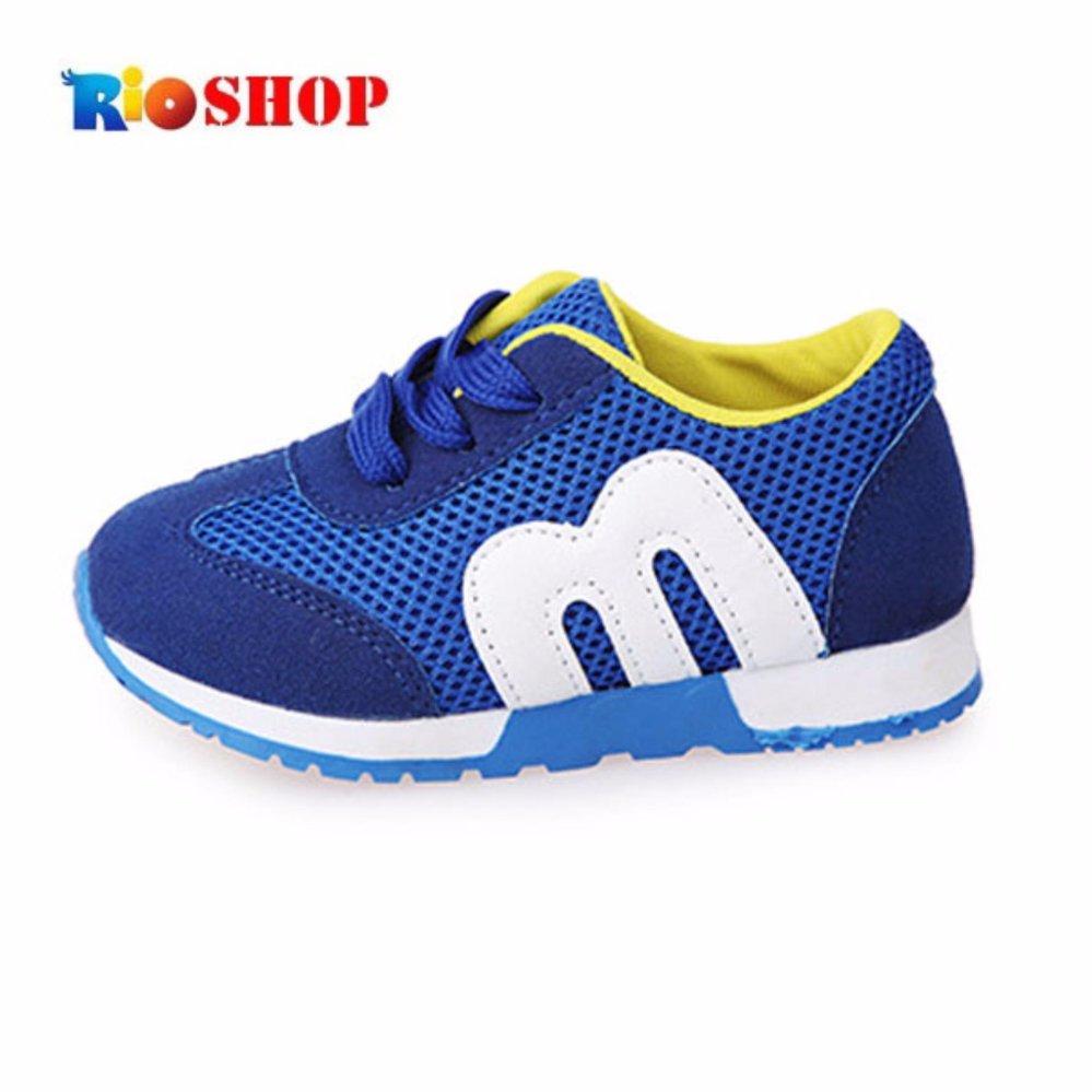 Giày trẻ em RS011 (Màu xanh)