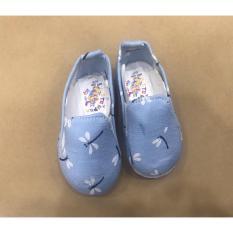 Giày Vải Họa Tiết Chuồn Chuồn Cho Bé