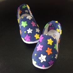 Giày Vải Ngôi Sao Xinh Xắn Cho Bé