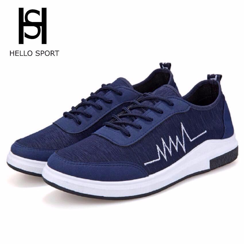 Giày Sneakers Nhịp Tim HS 07 Xanh Dương