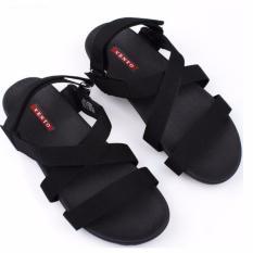 Giày sandal nam 3 quai kiểu chéo hiệu Vento NV4905B