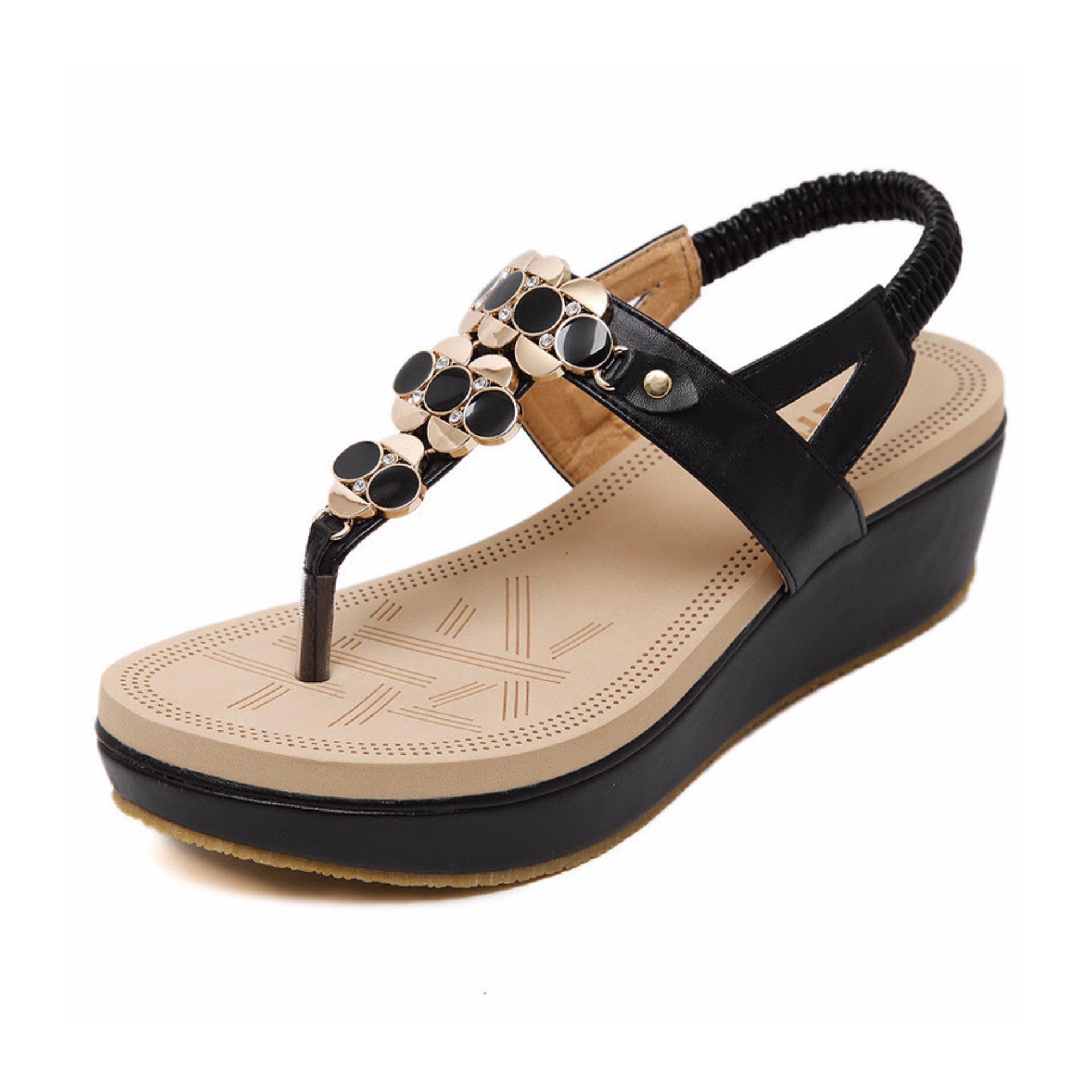 Giày xỏ ngón đính hột – C2001-L