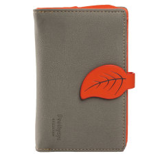 Địa Chỉ Bán Girls Leather Style Leaf Wallet Coin Money Purse Handbag Card Holder Gray – Intl  Five Star Store
